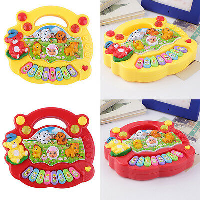Baby Kids Musical Educational Animal Farm Piano Developmental Music Toy Gift LP