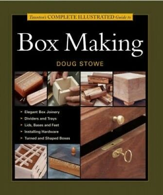 Taunton's Complete Illustrated Guide to Box Making by Jeff Jewitt.