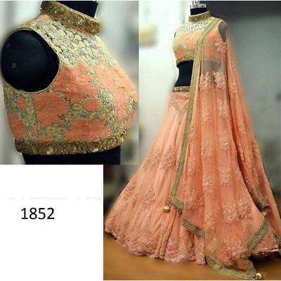 Pakistan Indian Designer Bollywood Wedding Ethnic Wear Lehenga Choli 363