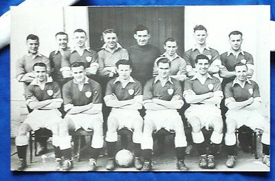 1949 Leicester City - F.a.cup Final Team Press Photo/mounted  Coa Wolves Player