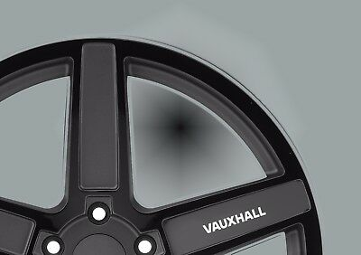Vauxhall  wheel Vinyl Sticker x 5/ Decal/ car wheels/ wheels