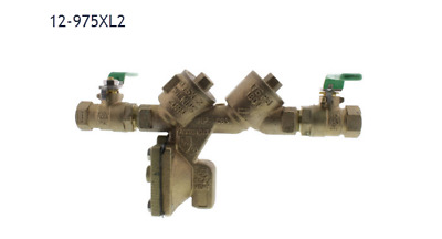 "12-975Xl2 1/2"" Reduced Pressure Backflow Preventer"