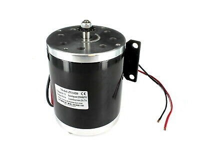 ZY1020 Electric Motor 24v 500w Brushed E Bike Scooter 24 Volt 500 Watt 6mm Chain