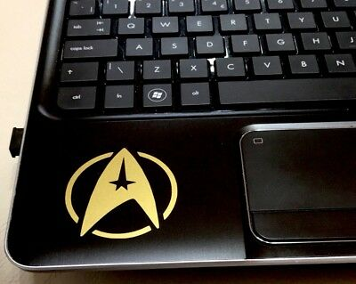 Star Trek Logo Car/van/motorbike /laptop Vinyl Decal Sticker