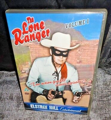 The Lone Ranger Volume 1 (DVD) Clayton Moore