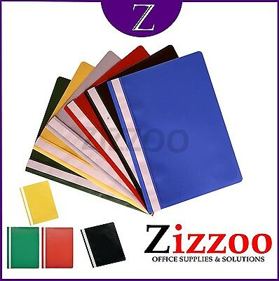A4 Project Report Files Folders 2 Prong With Various Colours And Amounts