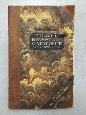 1988 Banana Republic Travel Bookstore Catalogue No. 5 Paperback