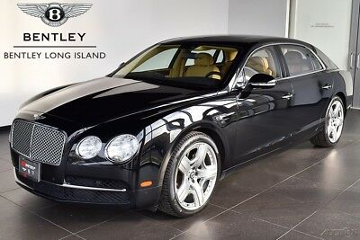 2014 Bentley Flying Spur  eat Piping - Rear View Camera - Deep Pile Overmats - Dual Tone Steering Wheel