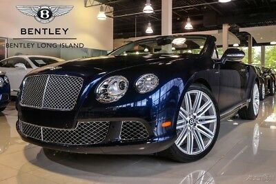2014 Bentley Continental GT Speed Convertible Ventilation & Massage Function to Front Seats - Neck Warmer - Contrast Stitching