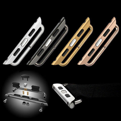 Watch Band Adapter Kits Strap Connection Connector For iwatch Apple Watch 4Color