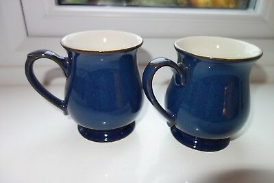 Two Denby Boston Craftsmans Mugs- BNWT