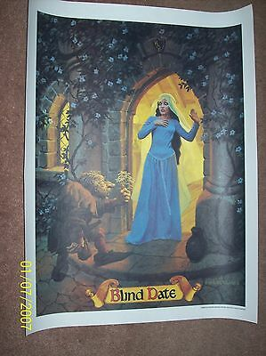 "Coca-Cola McDonalds fantasy school Poster ""Blind Date"" by Greg, Tim Hildebrandt"