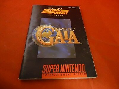 illusion of Gala Super Nintendo SNES Instruction Manual Booklet ONLY