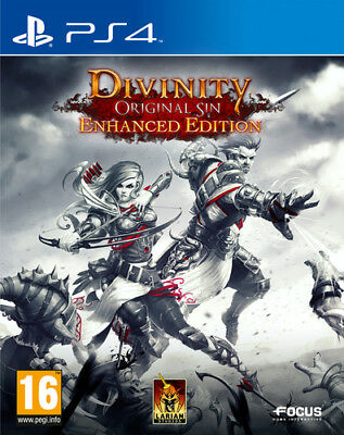 Divinity Original Sin: Enhanced Edition (PS4) Engl - Video Game KOCH MEDIA  NEU