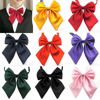 Japanese School Child Uniform Bow Tie Student Cute Bowknot Necktie Adjustable WL