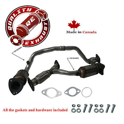 Catalytic Converter 2008-2010 Pontiac G6 3.5L Front Left and Rear Right Bank 1,2