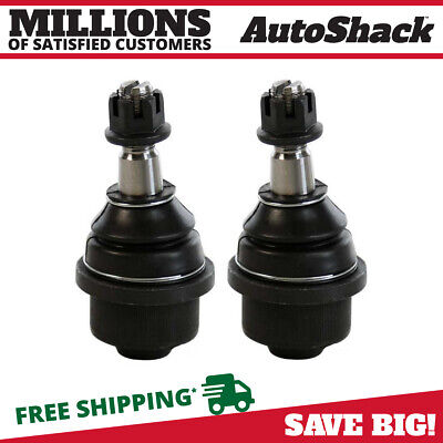 Set of 2 New Front Lower Left and Right Ball Joints Pair fits Chevy GMC Hummer