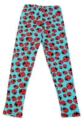 Kid's colorful Ladybugs Insect Pattern Printed Leggings