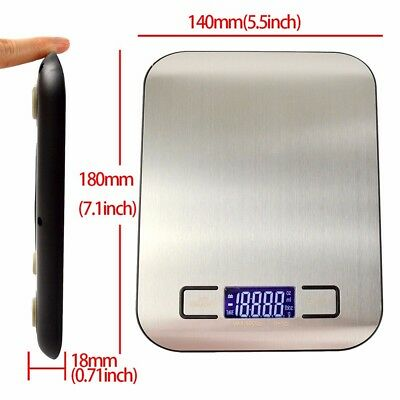 500g /5kg Precision LCD Jewelry Electronic Digital Balance Kitchen Food Scale