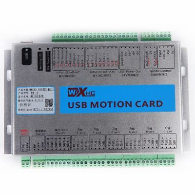 0Mach3 4Axis Breakout Board CNC USB Motion Control Card 2MHz MK4-V Upgrade UK