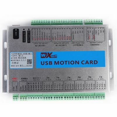 Mach4 USB 2MHz CNC 4 Axis Motion Control Card Breakout Board for Windows UK SHIP