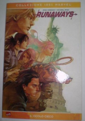 Marvel 100% Panini Cult Comics Runaways Number 6 J.Whed