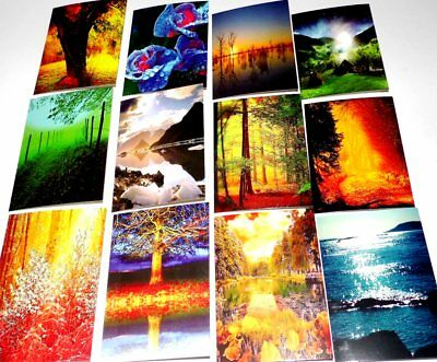 20p STUNNING 'DREAMS GLOW' CARDS x32, JUST 20p, Thinking of you, 16 designs x 2,