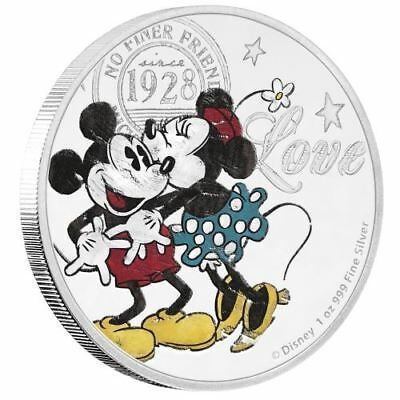 2017 Disney Love 1oz Silver Proof Coin - Great Valentine's Day gift