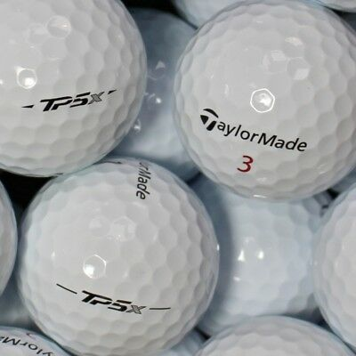 25 Taylor Made TP5x Modell 2017 Golfbälle AAAA Lakeballs in Top-Qualität TP 5x