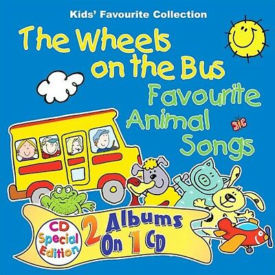 The Wheels on the Bus: Favourite Animal Songs CD- New & Sealed