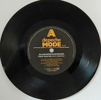 Depeche Mode - Blasphemous Rumours / Told You So / Somebody / Everything Counts