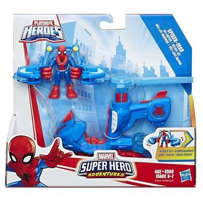 Playskool Heroes Marvel Super Hero Adventures Spider-Man Jet-Copter