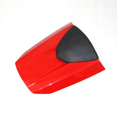 Red Motorcycle ABS Rear Seat Cover Cowl Fairing For Honda CBR600RR 2013-2017