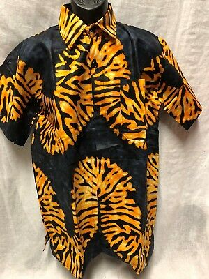 Handmade Traditional Africa Dashiki Shirt Ltd Edition One Off Roots & Culture V7