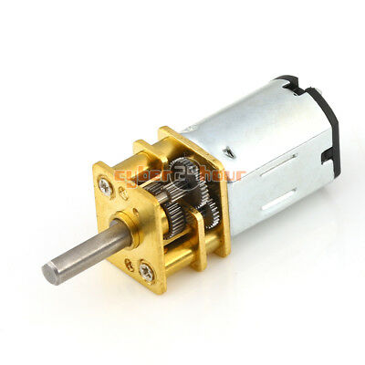 N20 DC6V 12V Gear Motor Micro Geared Box Electric Motor 40/100/600/1000/1200 RPM