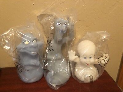 1995 Casper, Stretch, and Stinkie - Pizza Hut glow in the dark Toys VHTF NIP