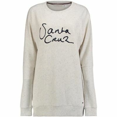 O'NEILL Sweatshirt Manches longues Loose Fit Silver - Femme - Blanc