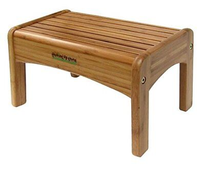 GROWING UP GREEN Bamboo Step Stool Benches Stools Furniture Home ...
