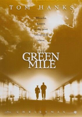 THE GREEN MILE MOVIE POSTER DS ORIGINAL Advance 27x40 TOM HANKS STEPHEN KING