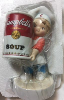 Campbell's Soup - Boy Porcelain Figurine #16476 - 2003 - New In Box