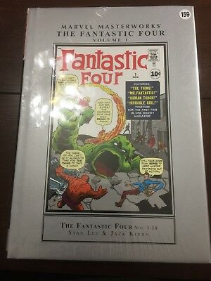 The Fantastic Four Volume 1 Thing Marvel Masterworks HC Hard Cover New Sealed