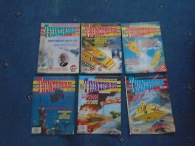Thunderbirds The Comic 6 x issues 1992 - 1993 (b)