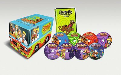 Scooby-Doo Where Are You Complete Original Series DVD Collection Episodes All TV