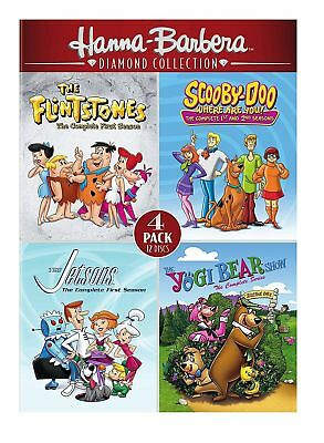 Collection Scooby-Doo the Flintstones Jetsons Yogi Bear Show DVD Set TV Complete
