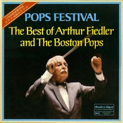 "Boston Pops & Arthur Fiedler ""Pops Festival"" 10 Lp Premium Quality Used (Nm/Ex)"