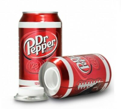 Dr Pepper Red Safe Stash Can For Hiding Tobacco Herb And Cash