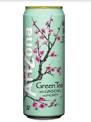Arizona Green Tea Safe Stash Can For Hiding Tobacco Herb And Cash