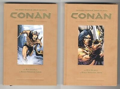 Barry Windsor-Smith Conan Archives Volume 1 and Volume 2 Dark Horse Hardcovers