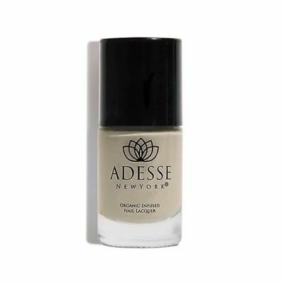 Adesse New York Organic Infused Gel Effect Nail Lacquer in Deception (gray) NIB!