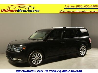 "2014 Ford Flex 2014 LIMITED AWD NAV LEATHER HEATSEAT RCAM 7PASS 2014 FORD FLEX LIMITED AWD NAV LEATHER HEATSEAT 7PASS RCAM 21""ALLOYS BLACK"
